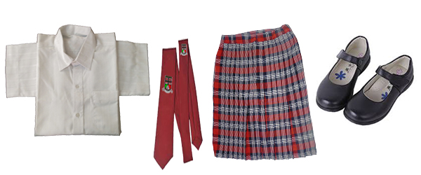 senior girl uniform