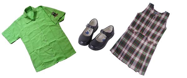 junior girl uniform